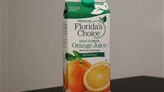 コストコでクソ高い「フロリダズチョイスオレンジジュース」を買ってみた