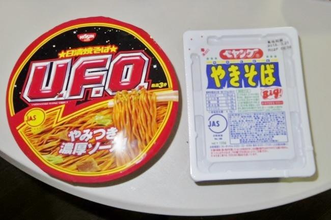 カップ焼きそば「ペヤング」と「UFO」はどっちが旨いのか?