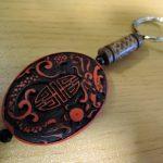 【お土産】中国で超高い漆工芸のキーホルダーを買ってみた(ボッタクリ?)