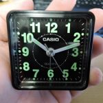中国出張には目覚まし時計必須!トラベルクロック CASIO TQ-140-1 JF レビュー