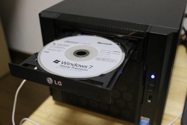 【キューブ型PCを自作3】Windows8ではなくWindows7をインストールしてみた!