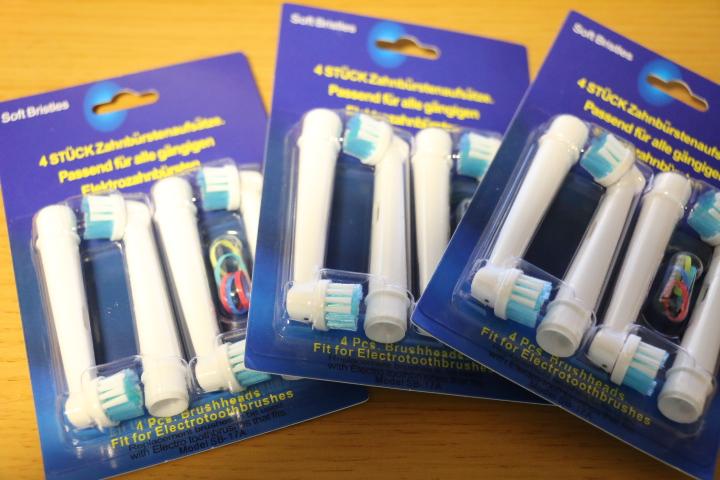 一本57円!ブラウン製電動歯ブラシ用互換ブラシ(SB-17A)を買ってみた!