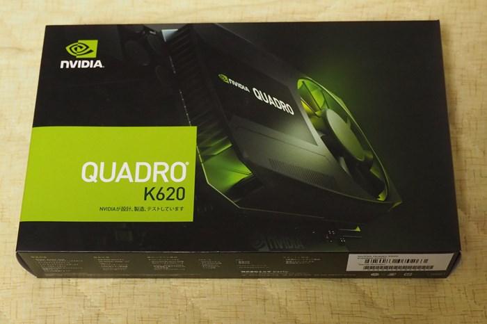 黒鼓に業務用グラボ「QUADORO K620」使えず!2万2千円もしたんだぞ!フザケルナ!