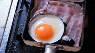 【レビュー】まん丸の目玉焼きを簡単に作れる目玉焼きリング