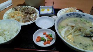 実録!よしだ飯 台湾料理幸福で豚トロの黒胡椒炒め定食