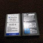 デジカメ純正バッテリーは高すぎる!互換バッテリーが安くてオススメだ
