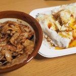 【よしだ飯】消費期限切れの豚バラ炒めと目玉焼き