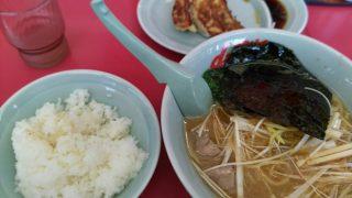 ラーメン山岡家「醤油ピリ辛ネギラーメン」を食べてみた