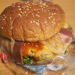 セブンのハンバーガー:ビーフ&ベーコンは旨いが398円は高くないか?