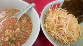 ラーメン山岡家で初めて「味噌つけ麺」を食べたが普通の味噌ラーメンのが僕は好き