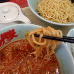【ラーメン山岡家】初めて食べた「辛味噌つけ麺」は酸味が効いて美味しい!