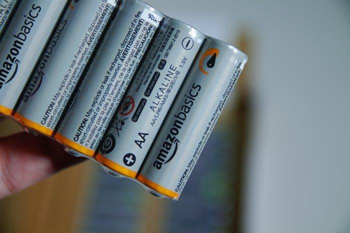 【Amazonベーシック】超激安だった単三アルカリ乾電池が届きました。20本で412円!
