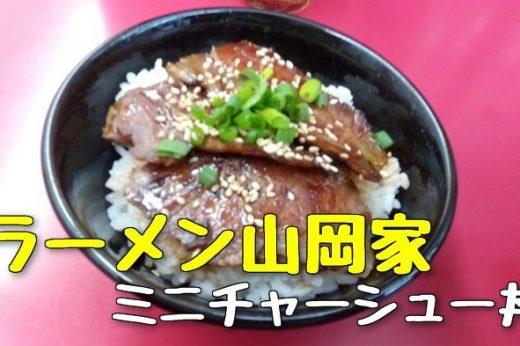 【山岡家】ミニチャーシュー丼320円、単品で頼むのはコスパ悪いな