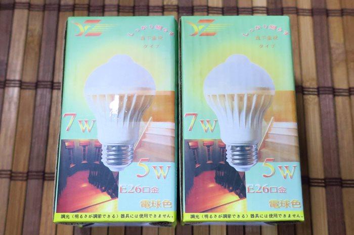 たった900円!?中華製の自動点灯機能付きLED電球を買ってみた