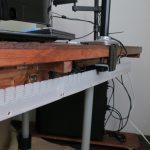【DIY】パソコン机に配線隠し(ダクト)を追加!最強のパソコンデスクを自作する part2