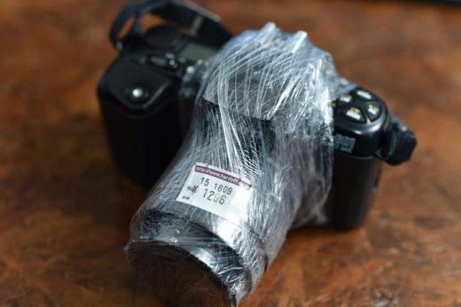 【ジャンク】ハードオフで古いニコン用レンズを購入!画質は・・・最悪でした