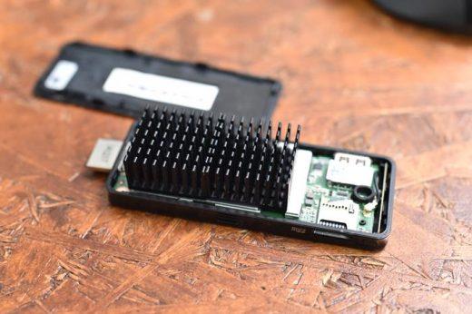 熱暴走!スティックPCの発熱/冷却対策→ヒートシンクを貼り付けたら改善!