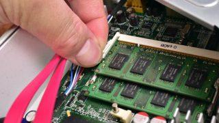 【2GBではたりない】メモリー増設して中古PCをより快適にしてみた!?