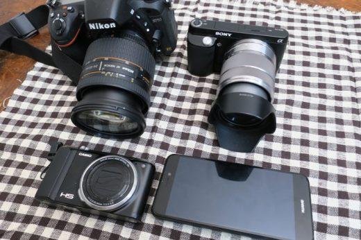 【5機種撮り比べ】高級なカメラほど画質がいいのか?