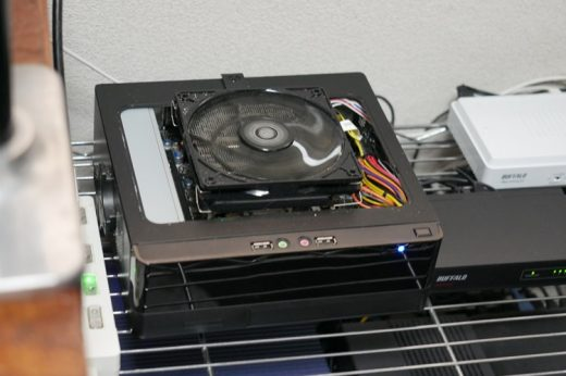 【新自宅サーバーのパーツ構成】CPUクーラーと電源、ケースを新調するよ
